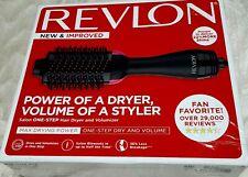 Revlon Salon One-Step Hair Dryer and Volumizer - Black (RVDR5222N3)