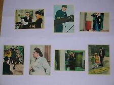 7 Figurine + BUSTINA - MARY POPPINS Movicolor 1966 WALT DISNEY - EDICOLA