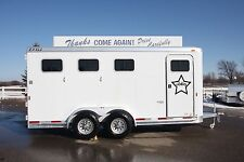 Horse Trailer Dressing Room Star Hollywood Decal Sticker U CHOOSE NAME AND COLOR