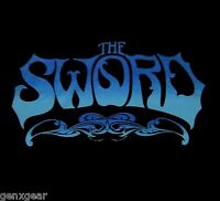 THE SWORD cd cvr BLUE ICE LOGO Official SHIRT MED new