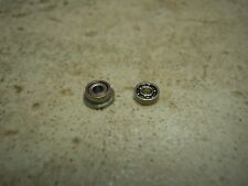 BALL BEARINGS FOR TYCO CHASSIS ( No need to sand armature) 2 bearings