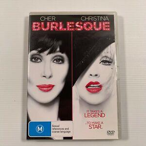 Burlesque (DVD, 2011) Cher Christina Aguilera Region 4