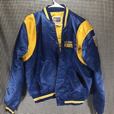 Vintage Los Angeles Rams NFL Satin Starter Jacket Men's Size Large