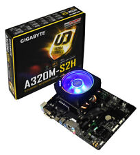 AMD Ryzen 7 2700X Eight Core Gigabyte A320M-S2H Motherboard CPU Bundle