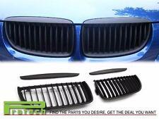 Matte Black BMW E90 / E91 Front Kidney Grille Grill 05-08 320i 325i 328i 335i