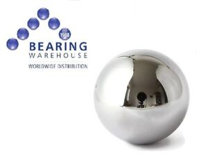 """Single Stainless 316 Steel Ball Bearing (Imperial Sizes: 1/16"""" to 2"""") AISI 316 L"""