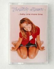 BRAND NEW Britney Spears...baby one more time LTD to 3000 WHITE Cassette SEALED