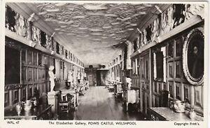 The Elizabethan Gallery, Powis Castle, WELSHPOOL, Montgomeryshire RP