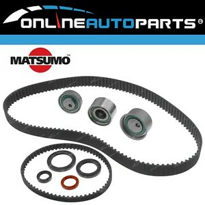 Timing Belt + Tensioner Kit suits Mitsubishi Triton ML MN 4G64 2.4L Petrol 07~15
