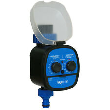 Ball Valve Automatic Hose Water Timer With Rain Delay Function in Garden/Yard