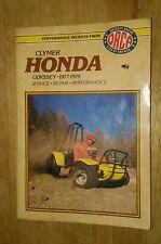 Honda Odyssey 250 FL FL250 Used CLYMER Service Manual 1977-1979 #VP-MAN201
