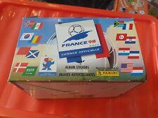 PANINI France 98 - Empty Display Box