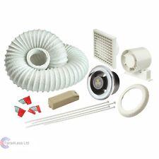Manrose/ducha ventilador de extractor Baño luz Led con temporizador 100mm 10.2cm