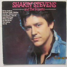 SHAKIN' STEVENS & THE SUNSETS.WHITE LIGHTING/RIP IT UP. CONTOUR. 33RPM LP.