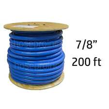 "200 ft 7/8"" ID FlexFab Silicone Heater Hose 5526 Blue 22mm 350F Radiator Coolant"