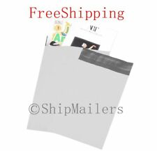 300 10X13 White Poly Mailer Self Sealing Shipping Envelopes Bags 2.0Mil #4