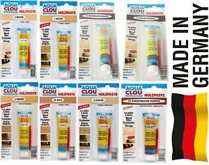 Clou Holzpaste 50g / 60g. Holz Paste Reparaturpaste Reparatur Farbwahl