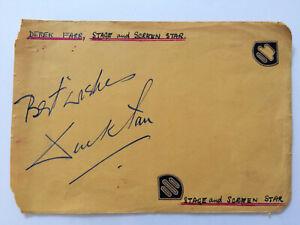 Derek Farr - The Dam Busters - Original Hand Signed Autograph