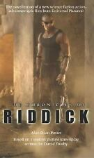The Chronicles of Riddick - Del Rey Paperback 2004 - Novelization of the Film