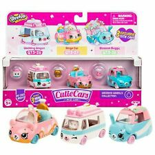SHOPKINS Cutie Cars S3 WEDDING WHEELS COLLECTION (3 Pack) Toy Vehicles Playset