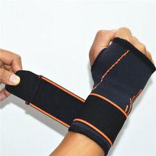 Wrist Support Brace Palm Hand Gym Weight Lifting Adj Strap Carpal Tunnel Bandage