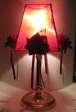Ancienne Lampe Séjour Chevet Table à poser en Laiton Epoque Art Deco Living lamp