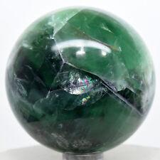 "2.25"" Rainbow Green Purple Fluorite Sphere Gemstone Crystal Mineral Ball - China"
