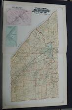 Ohio, Lake County Map, 1898 Willoughby Township, Double Page! P1#97