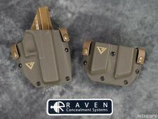 Raven Concealment Larry Vickers Signature Holster Double Mag for Glock 17 22 31