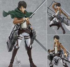 "Figma 207 Attack on Titan Eren Yeager 6""/15cm PVC Action Figure Anime Toy"