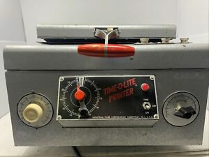 Industrial Timer Corporation Time-O-Lite Printer Model 80 MW2