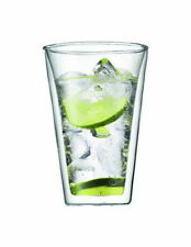 BODUM CANTEEN 2PC DOUBLE WALL GLASS LARGE 400ML