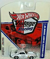 HOT WHEELS 2011 VINTAGE RACING DAVE STRICKLER'S WHITE '70 CHEVY CAMARO RS RARE!