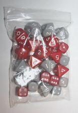 Prospero Dice Die Bundle D6 x8, D8x8, D10x2 ,D20x2, D&D Warhammer RPG