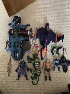 He Man Masters Of The Universe 200x Figure Vehicle Bundle Spares