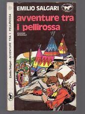 AVVENTURE TRA I PELLIROSSA di Emilio Salgari