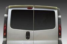 To Fit 2014+ Vauxhall Opel Vivaro Rear Roof Spoiler PU Barn Twin Door Model Van