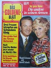 Das Goldene Blatt 51/1974, Ivan Rebroff, Silvia Sommerlath, Margit Schramm,