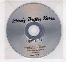 (GV612) Lonely Drifter Karen, Fall of Spring - 2010 DJ CD