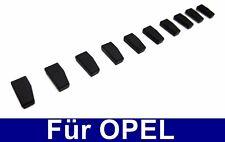 Llaves del coche para transpondedor Opel compatible id40 & tp09 chip inmovilizador