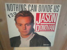 "JASON DONOVAN nothing can divide us 12"" MAXI 45T"
