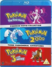 Pokemon Movie 1-3 Collection Blu-ray DVD Region 2