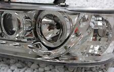 KLARGLAS CHROM SCHEINWERFER SET VW T4 90-96 LED TAGFAHRLICHT TFL LOOK LWR J