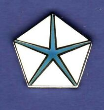 CHRYSLER PENTA STAR HAT PIN LAPEL TIE TAC ENAMEL BADGE #0114