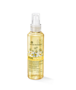 Yves Rocher Face Cleansing Micellar Oil Chamomile Non Greasy Soothes Eyes 150 ml