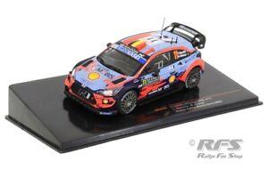 Hyundai i20 Coupe WRC Neuville Winner Rallye Monte Carlo 2020 1:43 IXO RAM 743