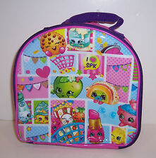SHOPKINS Insulated LUNCH BAG LUNCHBAG Box Case Tote NEW!