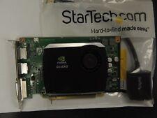 NVIDIA Quadro FX 580 512MB GDDR3 PCI-E x16 DVI Graphics 0R784K & DP2VGA2 Cable