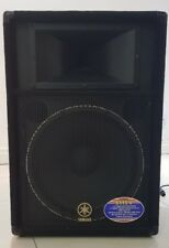 Yamaha S115V 1000W 15 Inch Passive PA Speaker with Leather Cover & SpeakON cable