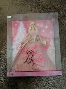 """2009 Holiday Barbie Doll Mattel 12"""" NIB Box Toy 50th Anniversary Christmas"""